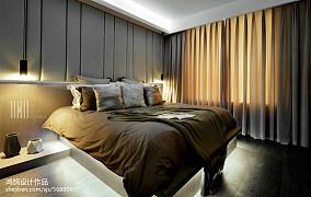 精选面积94平简约三居卧室装饰图片大全