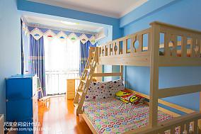 92平米三居儿童房美式装修图片
