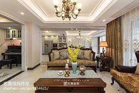 精选美式复式客厅欣赏图片