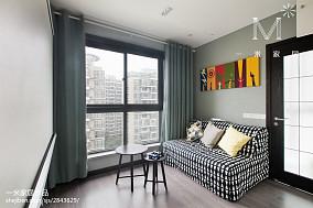 悠雅86平现代三居休闲区装修案例
