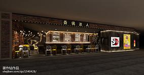 餐厅瓷砖拼花