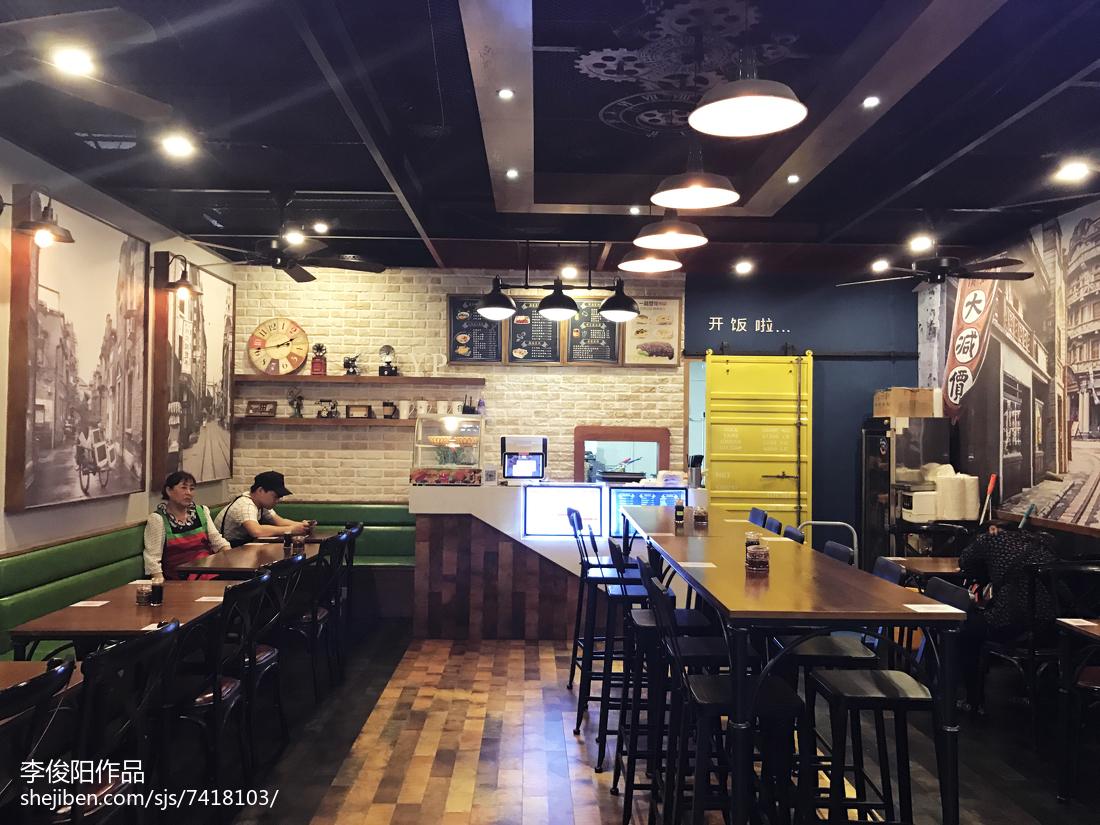 中式餐饮店装修设计方案