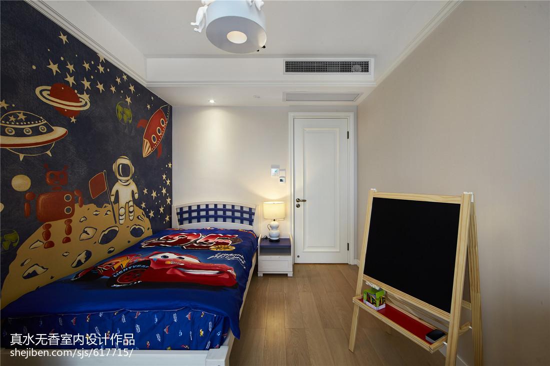 简约新古典风格儿童房设计