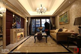 热门简欧客厅设计效果图