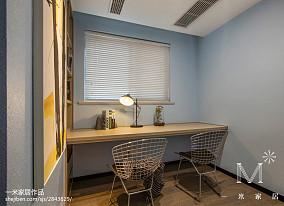 2018精选106平方三居书房现代装修设计效果图