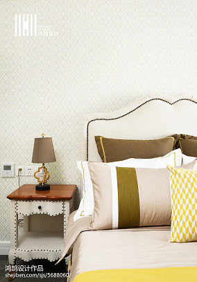 热门103平方三居卧室混搭装修设计效果图片大全