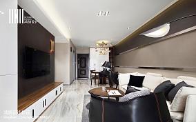 精美面积70平现代二居客厅装修实景图片