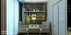 120平米现代复式书房欣赏图片