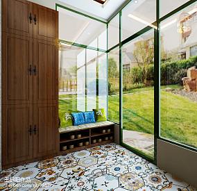 精美豪华简欧风格客厅电视背景墙设计效果图