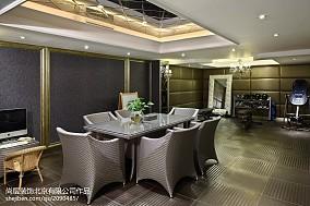 精美面积137平别墅餐厅欧式装饰图片大全