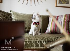 2018精选面积90平欧式三居客厅装修设计效果图片大全