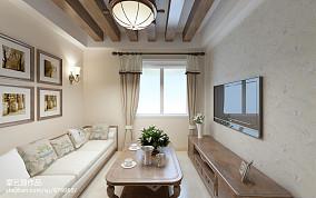 简单别墅楼梯窗帘图片