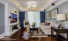 别致美式客厅设计方案