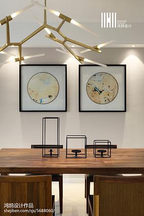 精选131平米四居餐厅现代效果图