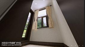 中式漂亮的小别墅效果图