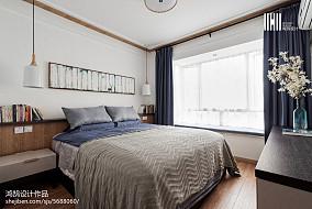 精美97平方三居卧室北欧装饰图片欣赏