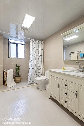 精美127平米四居卫生间混搭装修欣赏图片大全