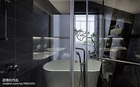2018精选面积79平二居卫生间装修设计效果图片欣赏