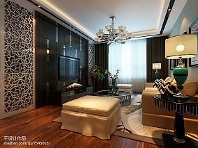精选73平米简约小户型客厅设计效果图