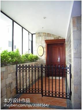 热门124平米现代别墅花园装修实景图片大全