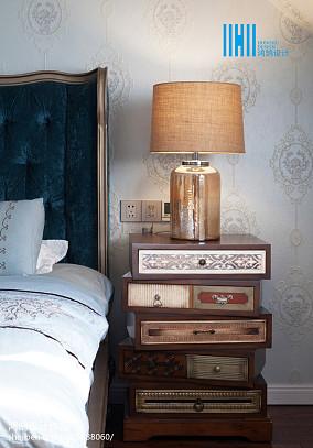 精美118平方美式别墅卧室实景图