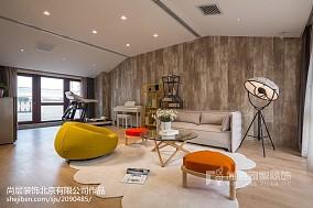 2018117平米现代别墅休闲区装修效果图片欣赏