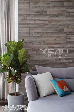 精美北欧复式客厅设计效果图