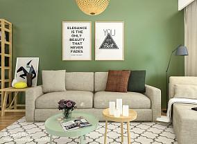 精选北欧二居客厅装修效果图片欣赏