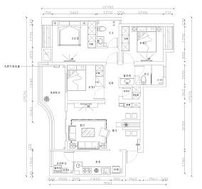复式四室两厅两卫图片