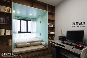 典雅94平简约三居休闲区实拍图