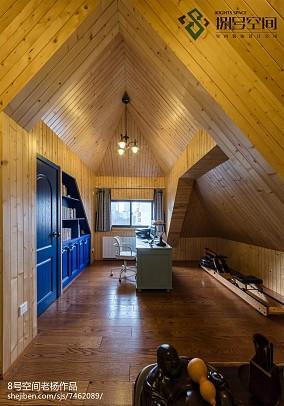 地中海风格别墅阁楼设计