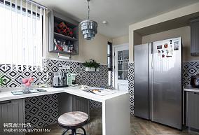 精美139平米四居厨房效果图片大全
