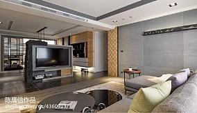 精选面积98平现代三居客厅装修设计效果图片