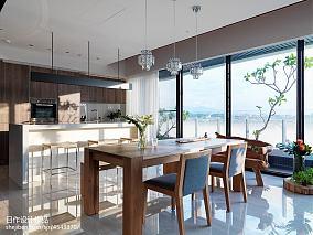 201871平米二居餐厅日式实景图片