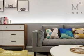 精美101平米三居客厅现代效果图片