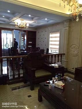 精美别墅客厅中式效果图