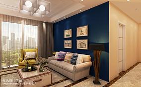 蓝色瓷砖图片
