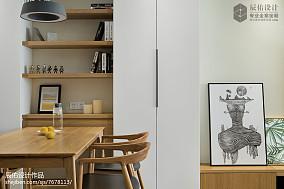 精美面积78平日式二居餐厅装修设计效果图片