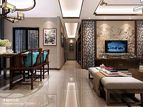 简单客厅背景墙灰色图片