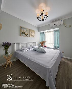 精美97平米三居卧室装修实景图片欣赏