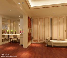 中式风格餐厅酒柜装修效果图