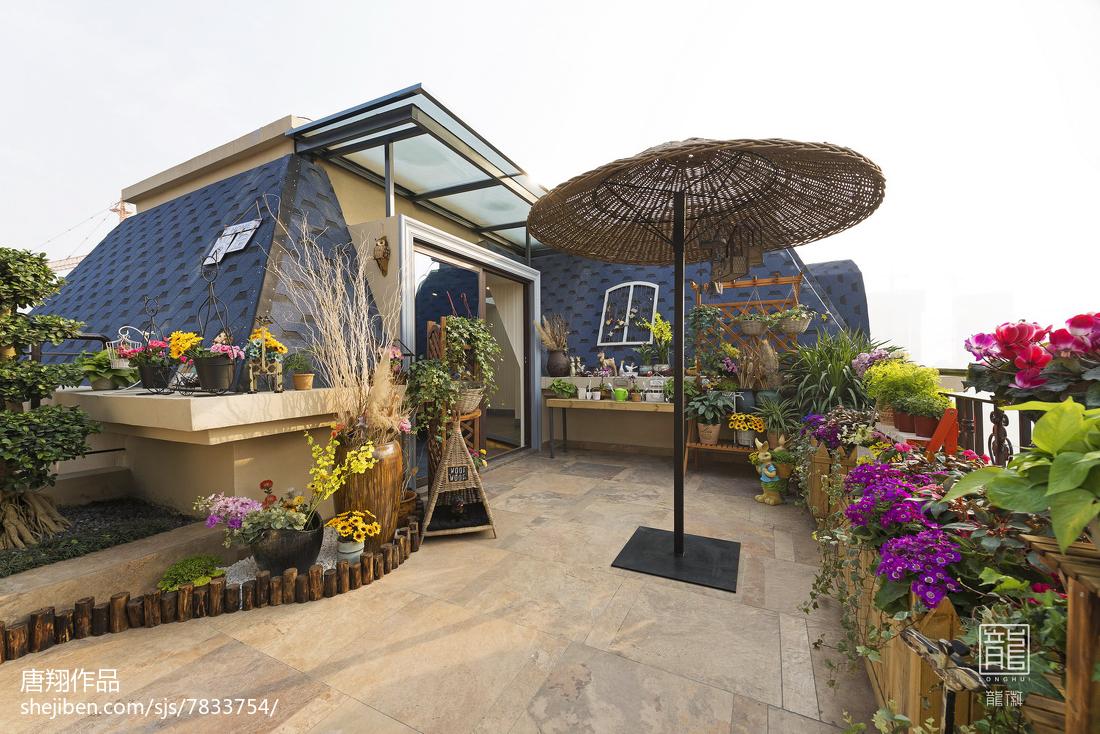样板房屋顶花园