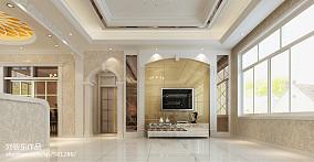 经典现代简约客厅装修效果图
