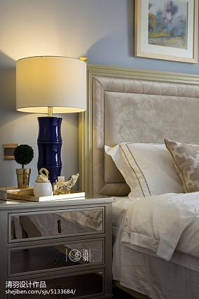 热门100平米三居卧室美式装饰图