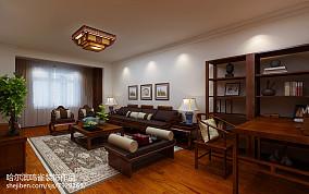 欧式风格70平米两室一厅装修效果图