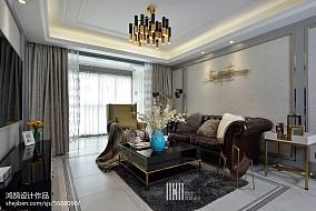 精选大小103平现代三居客厅欣赏图片