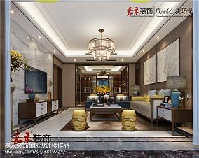 温暖暖色系客厅设计