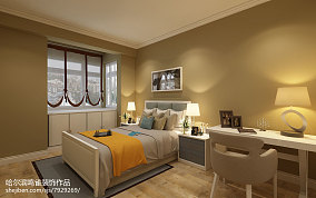 简约风格80平方米两室一厅装修效果图片
