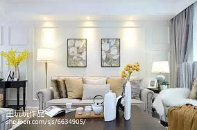 日式风格100平米三室两厅装修效果图大全