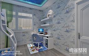 家装中式风格窗帘效果图